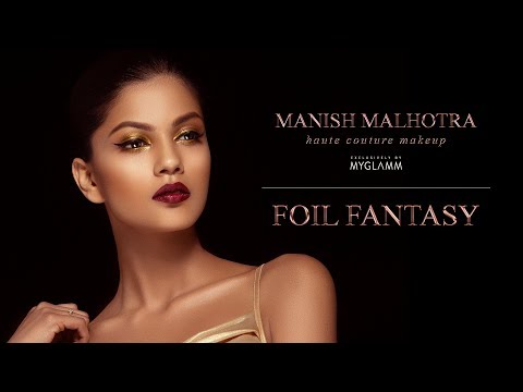 Manish Malhotra Beauty : Foil Fantasy with Daniel Bauer