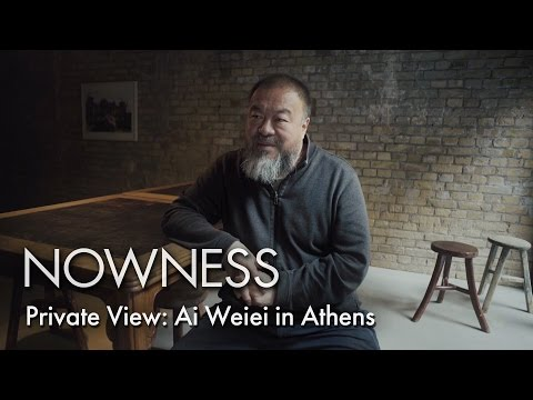 AI WEIWEI IN ATHENS