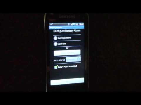Video of Battery alarm+