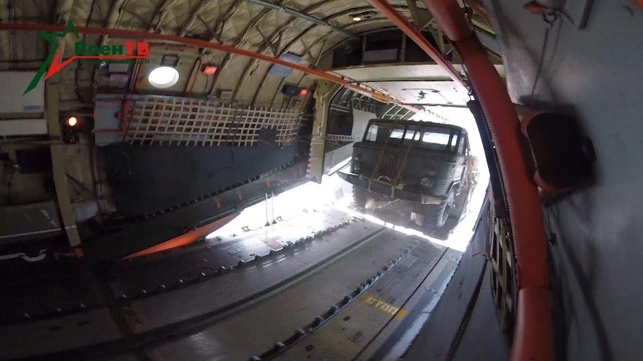 Десантирование грузовика ГАЗ-66 с высоты 600 метров