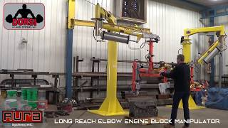Aura Systems - Long Reach Elbow Engine Block Manip...