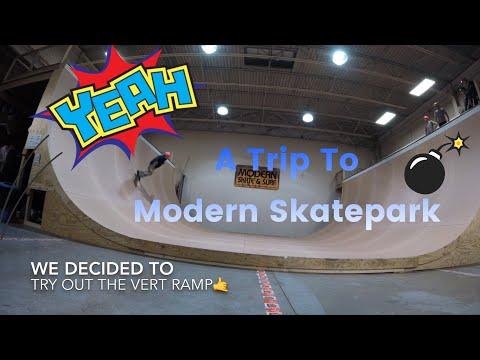 A Trip To Modern Skatepark