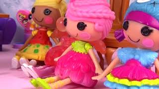 Куклы Лалалупси сериал СУПЕР МЭРИ 2 серия Сюрприз от супергероев мультик из игрушек Lalaloopsy Mini