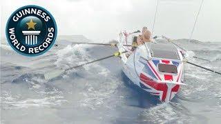 Смотреть онлайн Рекорд Гиннеса: парни переплыли океан за 54 дня