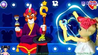 Thơ Nguyễn chơi game học phép thuật từ phù thủy