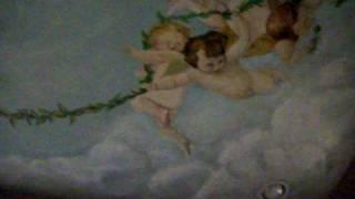 Bedroom Ceiling Mural Angels & Cherub limurals