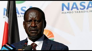 Raila Odinga may not take part in the October Elections; he explains