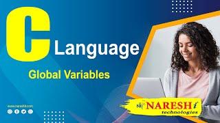 Global variables in C | C Language Tutorials | Mr.Srinivas