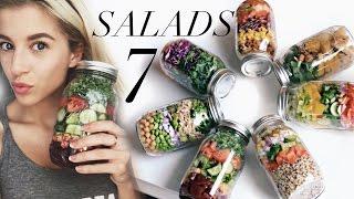 Meal Prep With Me: 7 Mason Jar Salads