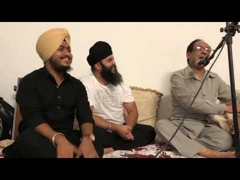 Tamam Umer Tera Intizar-Ghulam Ali Khan sb Live at Private Gathering in New Jersey with Tajinder