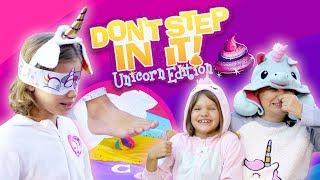 Don't step on it Unicorn  Edition 🦄, Nie wejdź w to!, Wersja Jendorożkowa - CHALLENGE