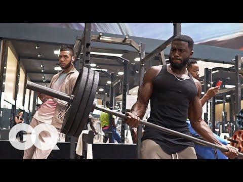 Vidéo des sportifs le bodybuilding