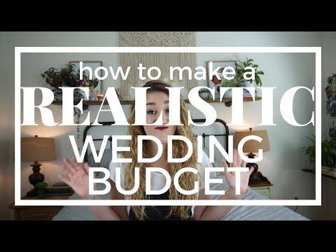A REALISTIC Wedding Budget