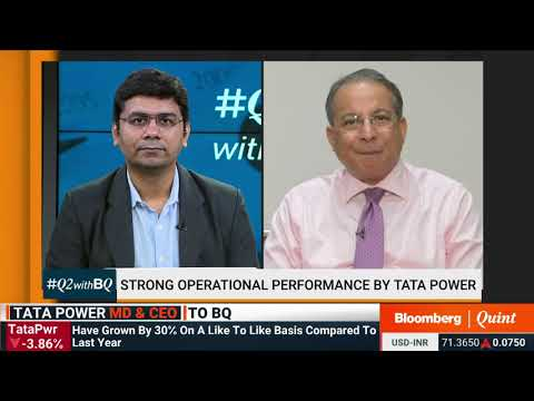 Bloomberg Quint Congratulates Tata Power on a Strong Operating Performance in Q2