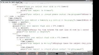 Python Tutorial 11 Looping your code back to the beginning using a procedure