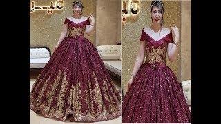c6b9545c0 بدلات اعراس 👰 اجمل فساتين الخطوبة لأجمل عروسة♥ 2019♥ موديلات جديدة