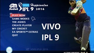 How to Download and Install VIVO IPL 9 Patch for EA Cricket 07