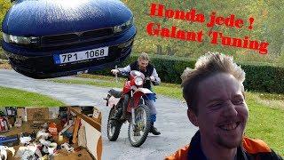 Galant TUNING - Honda JEDE! - Rekonstrukce - Mišmaš Vlog_02 :) BEZ KOMPRESE (: