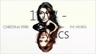 Christina Perri - The Words (AUDIO)