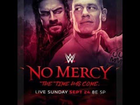 John Cena vs romanrangs 2017 promo no Marcy first time ever