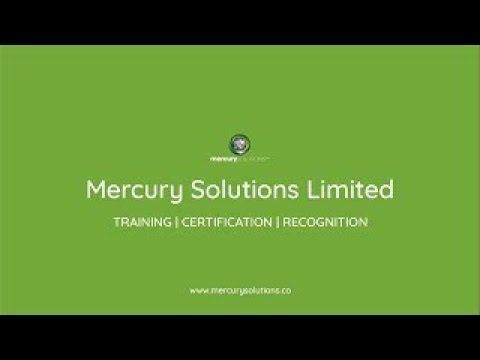 Demo | CISSP Exam Prep Training | Mercury Solutions Limited ...