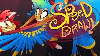 SPEED DRAW- Stageflight (Zoophobia)-VivziePop