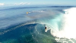 Tahiti surfing drone clip reel by jamy Donaldson