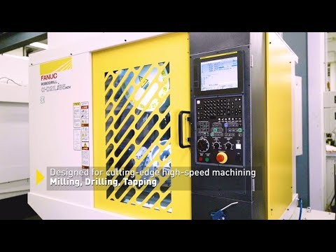 Speed. Precision. Efficiency - Experience the FANUC ROBODRILL Alpha-DiB5 Advanced Series