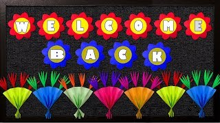 WELCOME BACK TO SCHOOL (III): Simple Steps For Bulletin Board Border Design