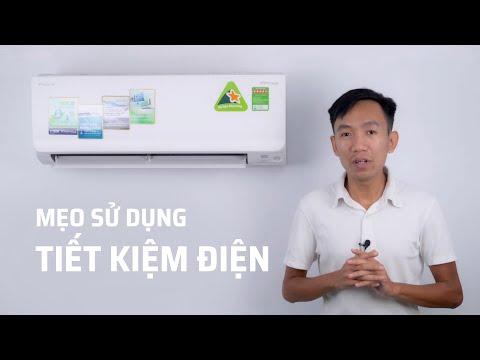 Các cách sử dụng giúp máy lạnh tiết kiệm điện hơn