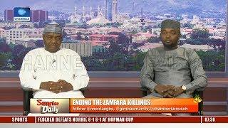 How To End Zamfara Killings - Experts Pt.1 |Sunrise Daily|