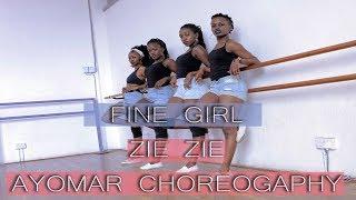 AYOMAR CHOREOGRAPHY | FINE GIRL   ZIE ZIE DANCE | @unikkdance254