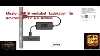 Mission USB Stromkabel   Ladekabel   für Amazon Fire TV 4V  Review