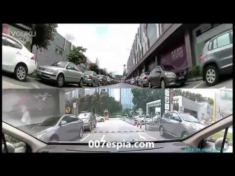 Camaras De Vigilancia Para Coches 360 Grados Con 4 lente