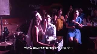Shake Rattle & Roll Dueling Pianos - Video of the Week - Bachelorette Party!