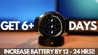 3 Ways to Increase your Galaxy Watch Battery Life by 12-24 HOURS!