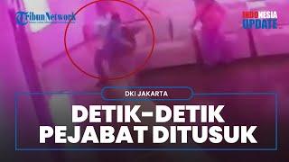 Video Detik-detik Pejabat Pemprov DKI Diserang, Ini Motif Pelaku yang Ternyata Mantan Pegawai