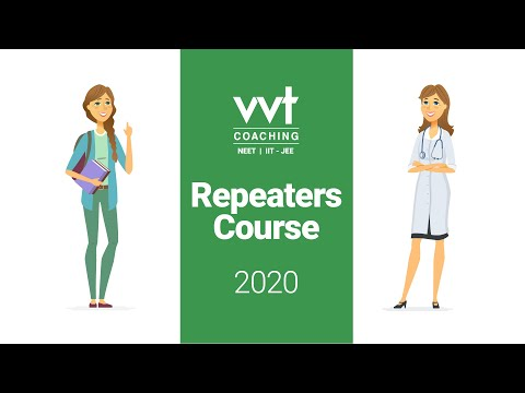 VVT NEET Repeater's Course