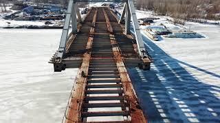 """Самара """"Фрунзенский мост"""" этап строительства на 6.04.2018"""
