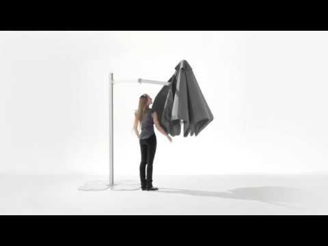 Designersonnenschirm PARAFLEX - Balkonsonnenschirm