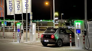 Yikes! Honda e DC Fast Charging Test From 0-100% Shows Little Potential Beyond City Use