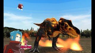 DinosaurKingArcadeGame恐竜キング-TheAlphaExam-BlackT-Rex[HardMode]