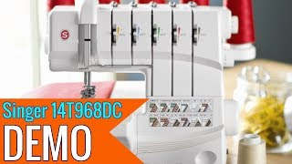 SINGER Professional 5 14T968DC Serger with 2-3-4-5 Threaded Capability review