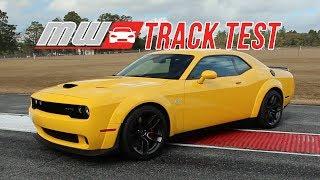 2018 Dodge Challenger SRT Hellcat Widebody | Track Test