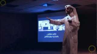 preview picture of video 'يونيو 2012 - محاضرة SHIFT - خالد عبد الغفور'