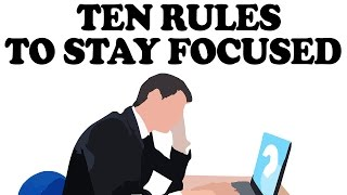 10 Powerful Ways To Stay Focused On Your Wok Without Getting Sidetracked (Performance Management)