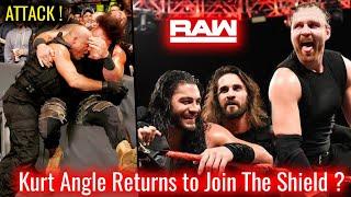 Kurt Angle JOINS The Shield ! WWE Raw 10 September 2018 Highlights ! The Shield Vs Braun Strowman