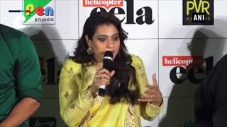Kajol talks about her upcoming flick 'Helicopter Eela'