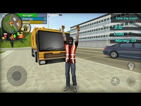Big City Life Simulator #4 SCAVENGER! - Android gameplay