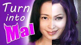 Watch Me Turn into Mal from Disney Descendants - Digital Cosplay Fun